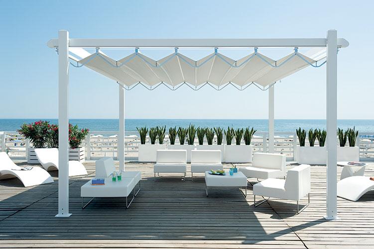 pergolas bioclimatiques. Black Bedroom Furniture Sets. Home Design Ideas